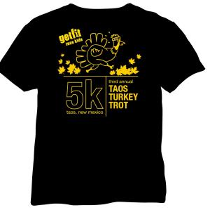 Taos Turkey Trot Tshirts