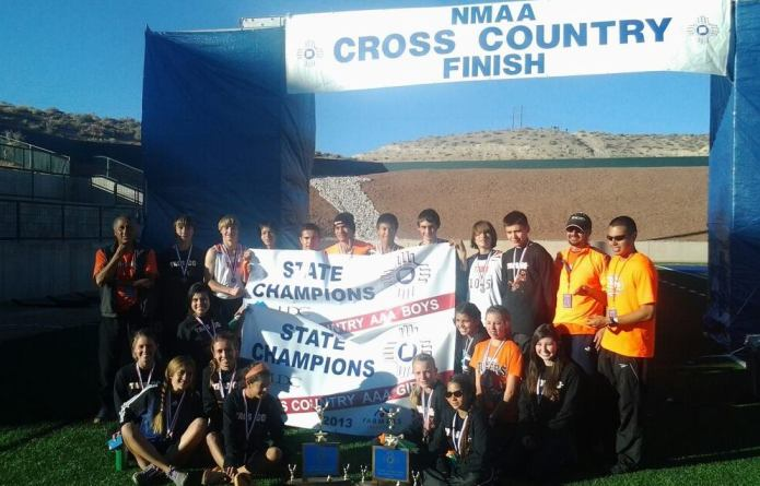 Taos Cross Country State Champs